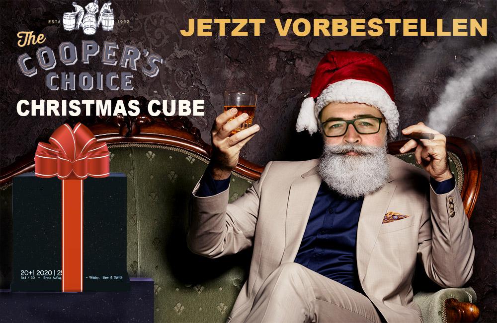 Compositing Werbung für Schwedors Christmas Cube